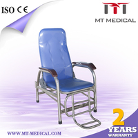 ABDF IC-1A stainless steel hospital infusion chair, medical infusion chair