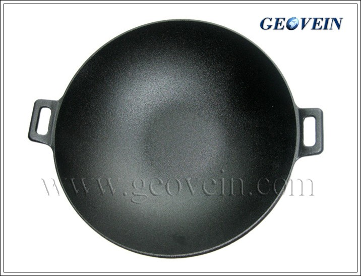 vegetable oil cast iron chinese home wok