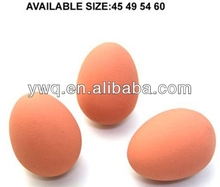 2013 new egg shape bouncing rubber ball solid bouncy ball