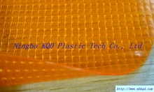 Transparent pvc coated tarpaulin fabric for bag/furniture cover/greenhouse
