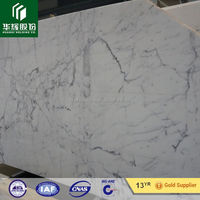 Well Polished Statuario White Marble Slab Price first class