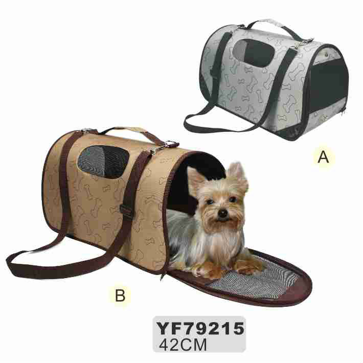 Luxury various fabric dog carrier
