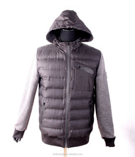 Good quality lastest design jacket for men, goose down coat men winter coat brand 2016