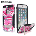 Camouflage cover for iphone 7 plus case and cover,with metal kickstand 7plus rugged case