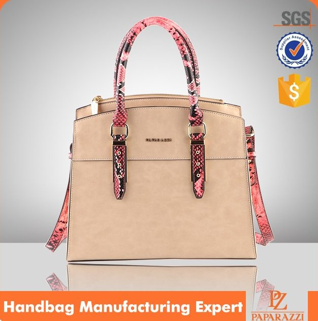 5127- 2016 wholesale Fashion ladies leather hand bags plain leather bueno handbags