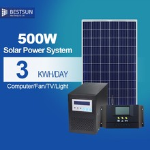 BESTSUN 500W portable mini solar system high efficient energy solar