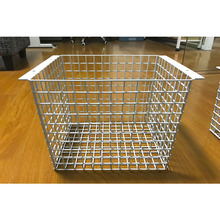 Metal Storage Basket, Wire Mesh Hanging Baskets