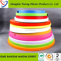 Edge & corner guards,Solid/Wood grain PVC Edge Banding for Furniture and Doors