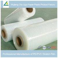 Tension self-adhesive dust proof pallet pe wrapping film