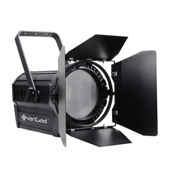 100W Manual Zoom 15-60degree 3200K/5600K Studio Room Using LED Fresnel Spot Light