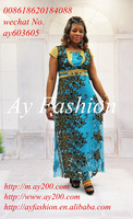 Printed maxi dress prom dresses for muslim plus size women wear floral women dresses