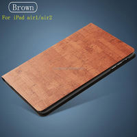 Rock Texture Pu Leather Smart Waterproof Case for Ipad Air, Folio Stand Cover Case for Ipad Air1 2