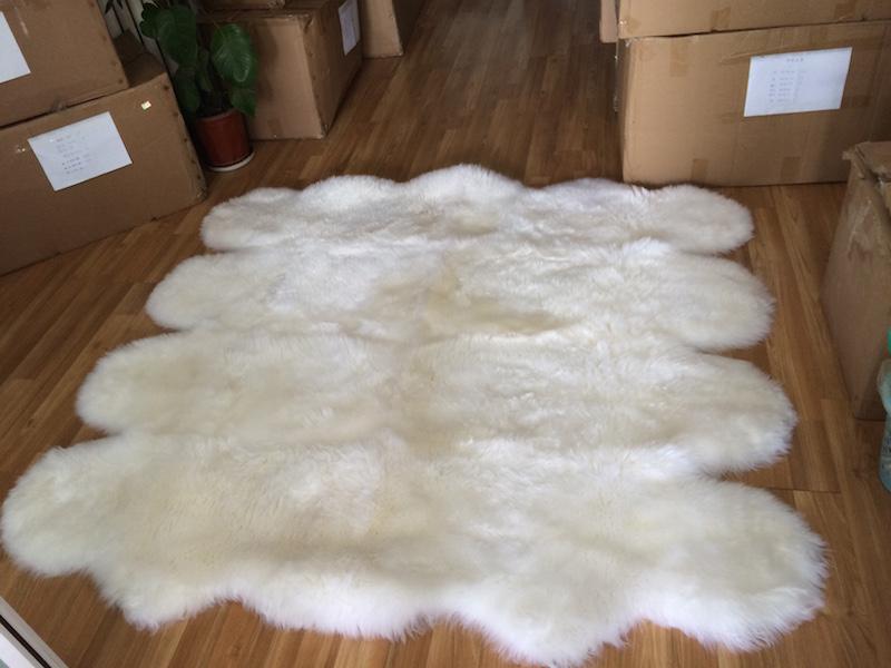 100 Genuine Sheepskin Rugs From Australia And New Zealand
