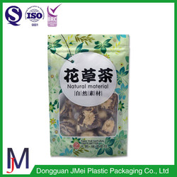 wholesale plastic bag for food doypack pouch best tea bag for herb tea
