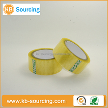 custom printed factory wholesale adhesive bopp tape / strong viscosity bopp packaging tape