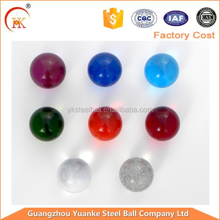 Colorful crystal glass ball gifts decorative