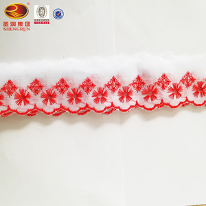 Wholesale Accessories Polyester Cotton Trimming Lace For Garments