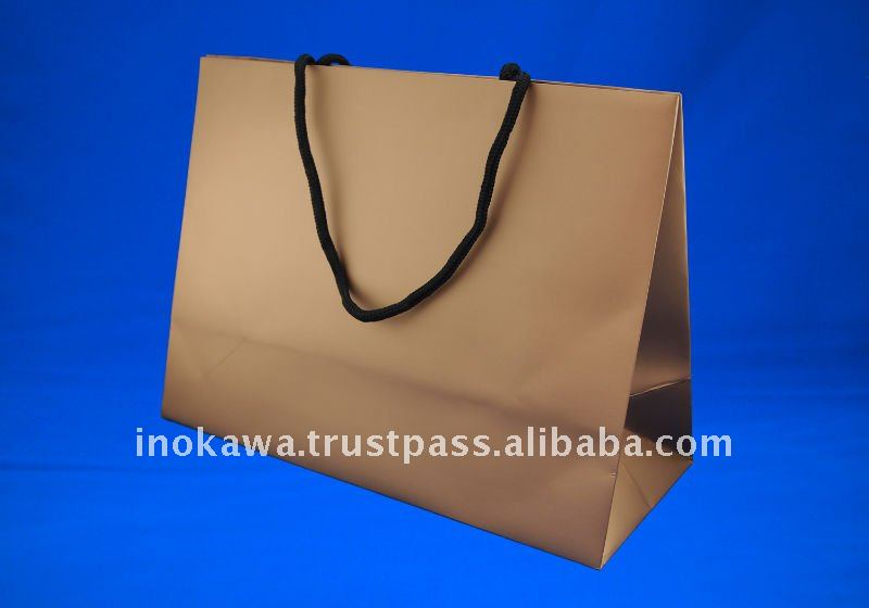 Luxury Shopping Paper Bag STOCKLOT LOW PRICE ---HG-GOLD 150--- Wholesale