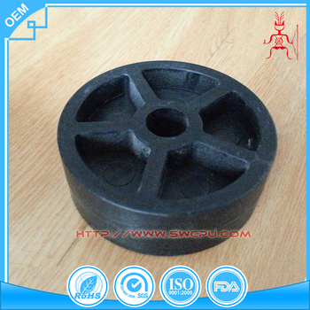 Gym equipment parts for weaving machine MC nylon plastic pulleys