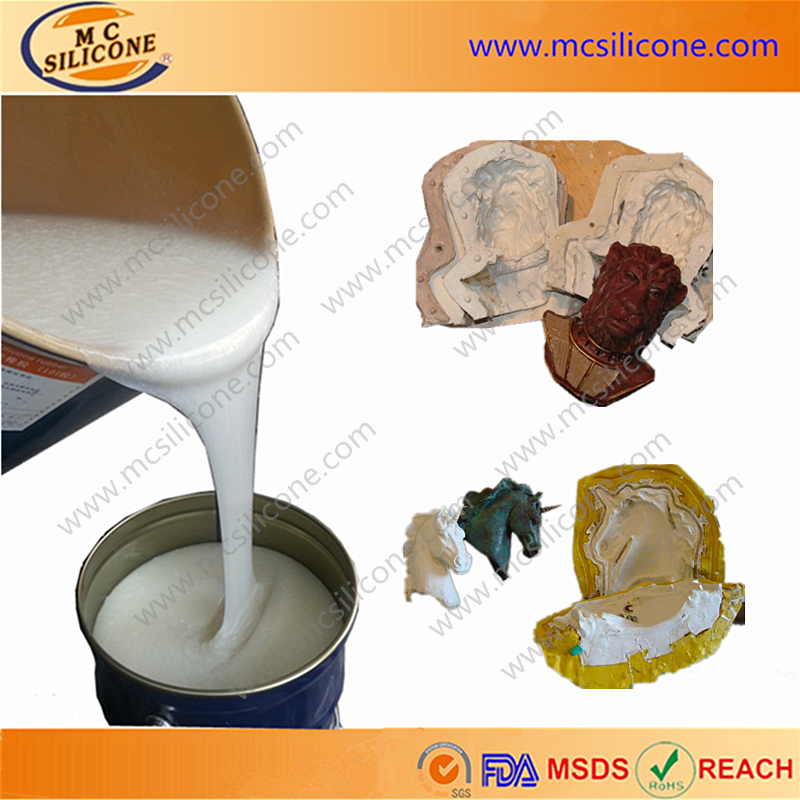 polyester craft mold casting liquid rtv silicone rubber
