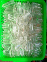 Wholesale natural clear crystal quartz stone six sides clear crystal wands crystal points