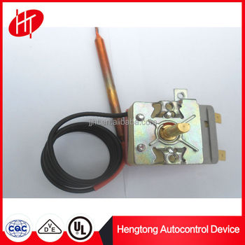 OEM home appliance parts capillary thermostat for gas deep fryer