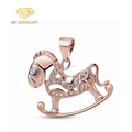 Silver Horse Shape Silver Jewellery Pendant Necklaces for Kids