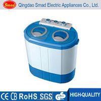 freestanding household portable mini twin tub washing machine for socks