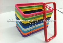 hot sale silicone bumper cases for Iphone 5""