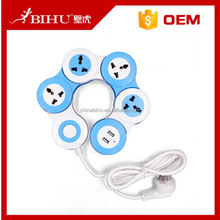 China goods hot sell extension socket receptacle with usb