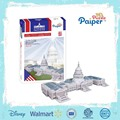 United state capitol creative 3d building model building toys