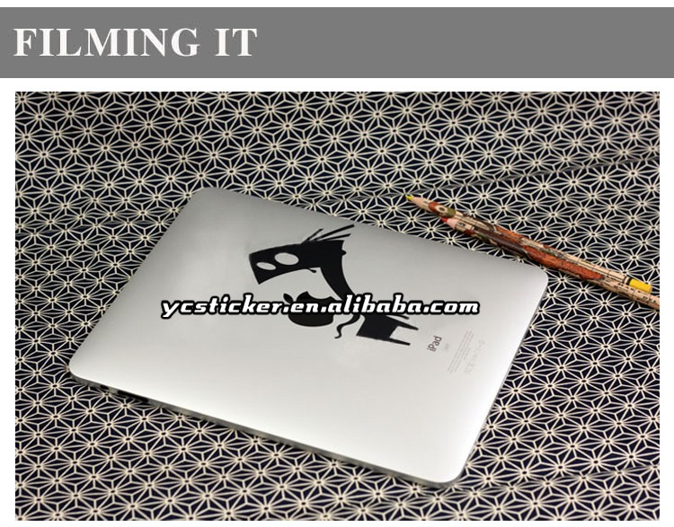OEM Tablet Decals Removable Skins Decorative Vinyl for iPad Stickers