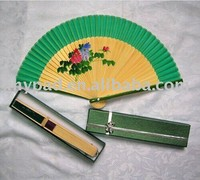 chinese personalized bamboo folding hand fan frame