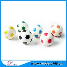 Wholesale PU Football Promotional Antistress Ball, PU Custom Soccer Ball