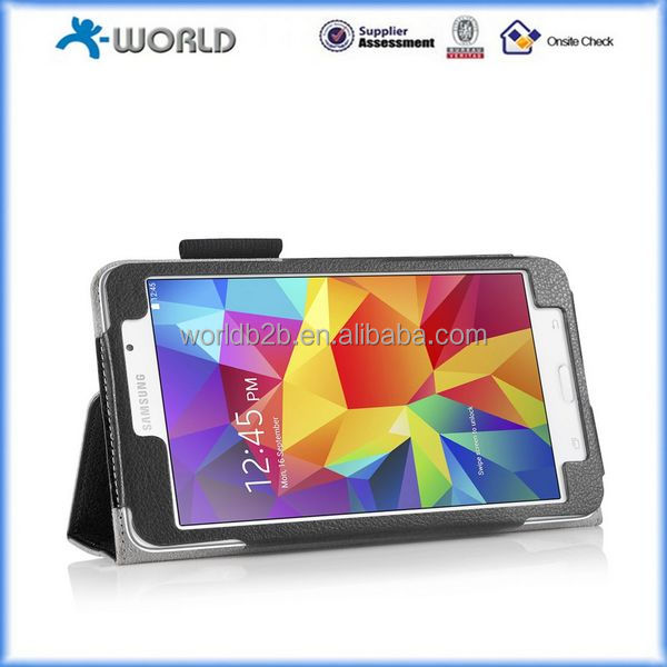 Smart Cover Case with Stand for 7 inch Tab 4 Tablet 2014 (SM-T230 / T231 / T235) ,For Samsung Galaxy Tab 4 7.0 SM-T230