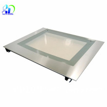 Heat resistant glass stove cooktop high quality tempered oven door glass