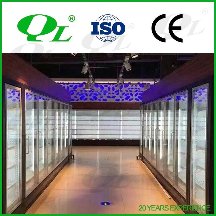 Supermarket refrigerator showcase display veg display fruit cooler supermarket refrigeration equipment cosmetic refrigerator
