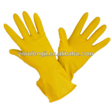 WJ83 work gloves/protective gloves/ liquid latex rubber labour supply heavy duty chemical resistant gloves