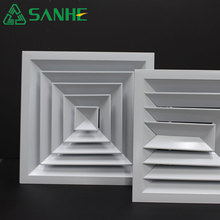 Total quality controled Louvered Face Ceiling Diffuser