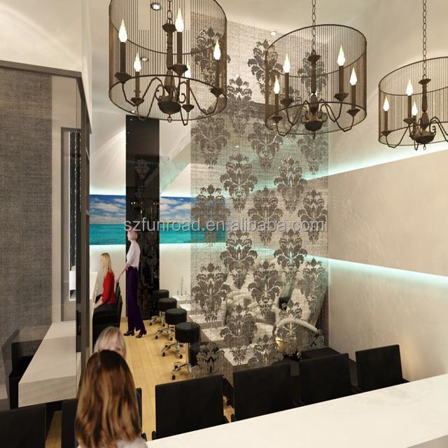 High end nail retail shop equipment nail salon furniture, nail bar interior design