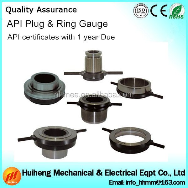 Quality control stainless steel api thread gauge