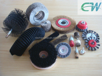 rotary polishing brush