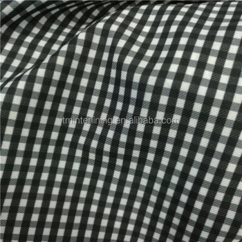 good quality printing lining fusible woven interlining