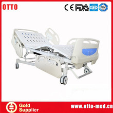 Five-function electric hospital bed manufacturers adjustable bed remote control