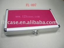 2015 Aluminum cd case ,CD box with CD bags and safe lock