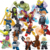 34044 plastic mini toys set building blocks supers heros  marvel  building block fot children 16pcs