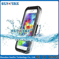 IP68 Mobile Phone Waterproof Case for Samsung Galaxy S5 i9600