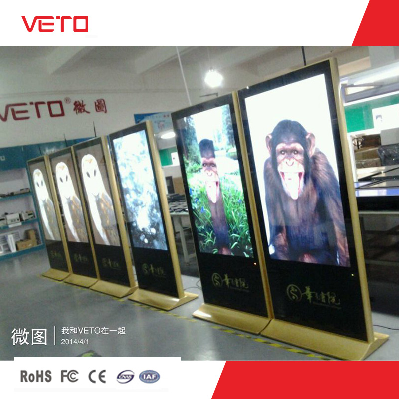 indoor/outdoor lcd new model advertising