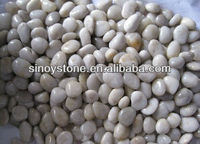 Hightly Polished White Pebbles