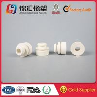 Custom ifferent specifications custom white silicone rubber gasket